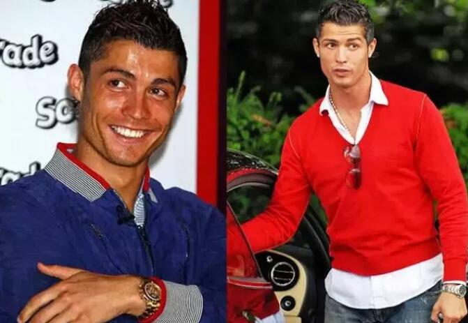 Cristiano Ronaldo likes to wear Rolex Daytona in private which is suitable for any occasion.