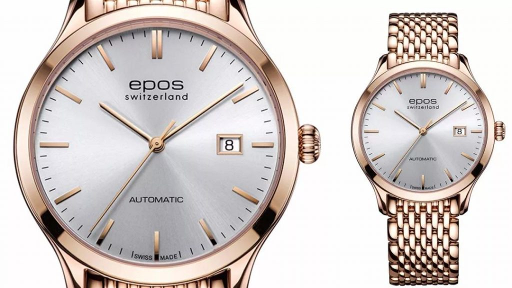 The stainless steel with rose gold PVD treatment is distinctive and iconic.