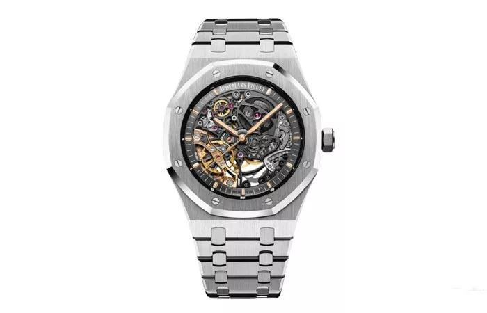 The model maintained several iconic features of Audemars Piguet.