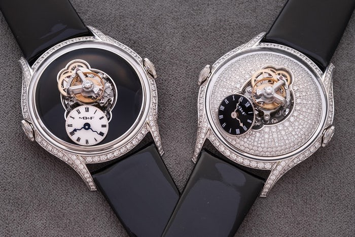 Like the models for men, the MB&F watches for women are also innovative and special.
