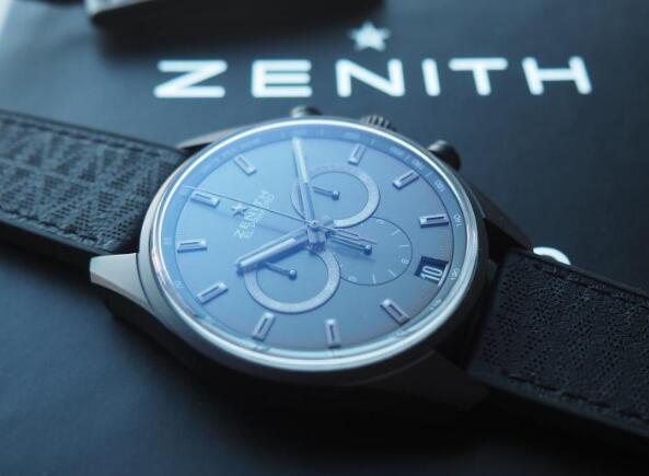 Zenith El Primero presents the great precision.