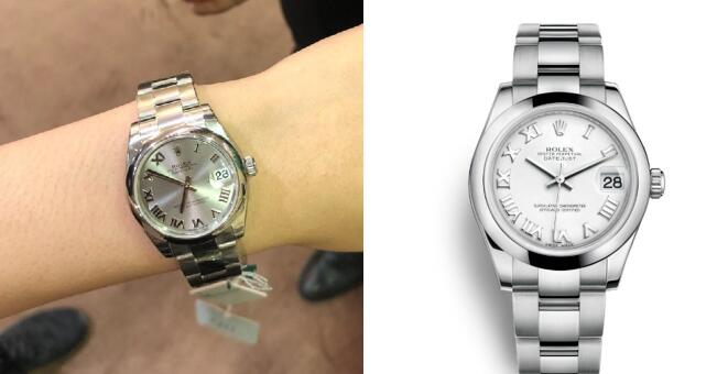 The Datejust is a good choice for women with the elegant appearance and top quality.