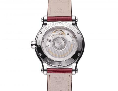 The overall design of this Chopard Happy Sport is dynamic and brilliant.