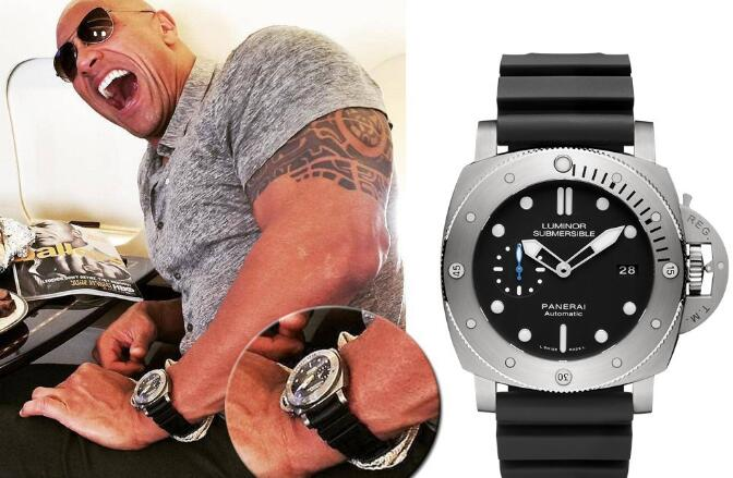 Panerai Submersible becomes one of the most popular diving watches now.