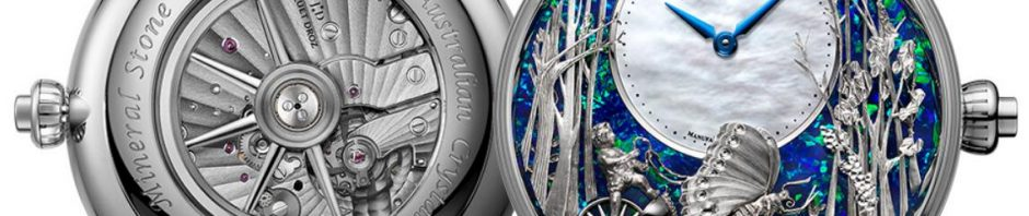 White Gold Jaquet Droz Duplication Watches