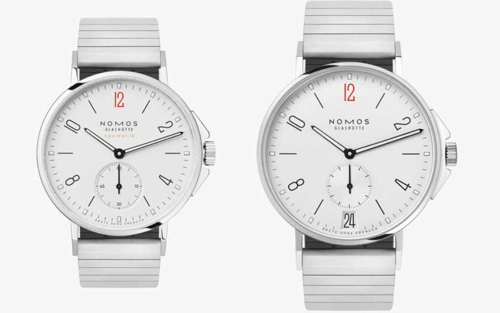 Swiss knock-off watches online provide two sizes for males and females.