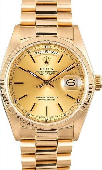 The gold Day-Date replica has been chosen by many Presidents.